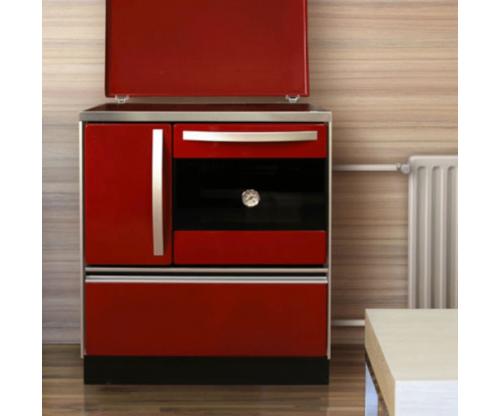 Печка с водна риза на дърва и въглища, модел: Thermo Royal-0