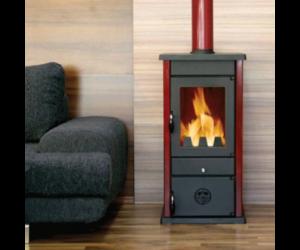 Печка с водна риза на дърва и въглища, модел: Thermo Vesta-0