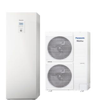 Термопомпа Panasonic Aquarea ALL IN ONE H GENERATION T-CAP KIT-AXC9HE8 (9 kW - 400V) -0