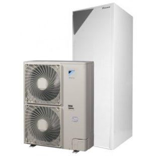 Термопомпа Daikin Altherma с вграден водосъдържател EHVX16S26CB9W/ERLQ014CW1 (14 kW - 400V)-0