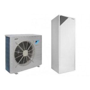 Термопомпа Daikin Altherma с вграден водосъдържател EHVX08S26CB9W/ERLQ006CV3 (6 kW)-0