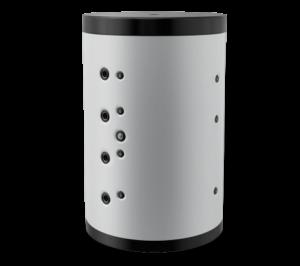 Буферен съд Елдом,една серпентини,Неемайлиран,модел:BCS 1500-0
