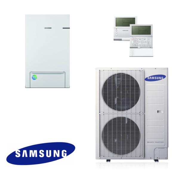 Термопомпа Samsung за отопление и охлаждане AE160JNYDEH / AE120JXEDEH (12 kW)-0