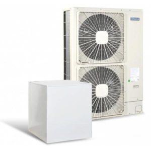 Високотемпературна термопомпа Hitachi YUTAKI S80 4V само отопление (230V) 11 kW-0