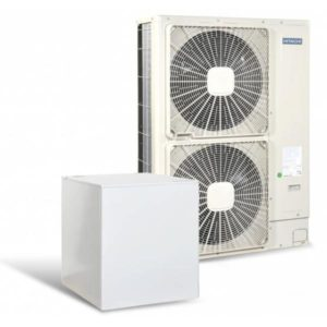 Високотемпературна термопомпа Hitachi YUTAKI S80 5V само отопление (230V) 14 kW-0