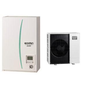 Термопомпа Mitsubishi Electric Ecodan,модел: ERSC-MEC/PUHZ-SHW80YAA Zubadan (8 kW - 400V)-0